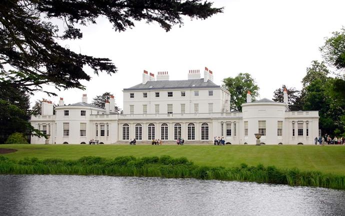 **The Property:** Frogmore House.<br><br> **The Location:** Windsor, Berkshire.<br><br> **The History:** Although Frogmore House doesn't have any official royal residents, it's used for quite a few official engagements and events by the family—including, most recently, Prince Harry and Meghan Markle's wedding reception. It is named, if you can believe it, because there is an abundance of frogs in the area.<br><br> **Who Lives There:** No official residents.
