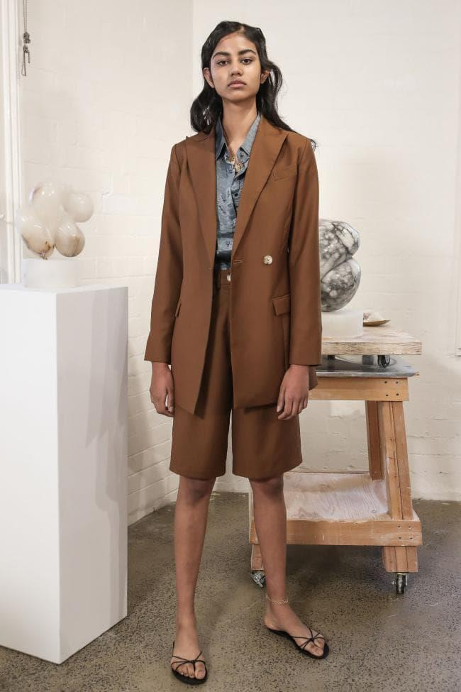 **Enhanced Neutrals:** Earth brown at *Anna Quan Resort 2020*