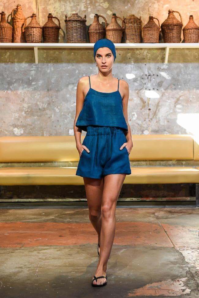 **Digital Brights:** Cerulean blue at *Bondi Born Resort 2020*
