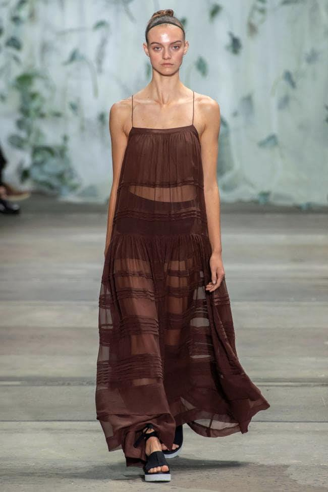 **Enhanced Neutrals:** Earth brown at *Lee Matthews Resort 2020*