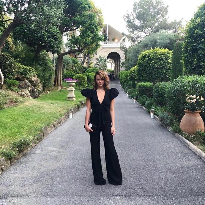 "Guest Pauline Ducruet, a Monaco royal.<br><bR> Via [@paulinedcrt](https://www.instagram.com/p/ByNseIdBc90/|target=""_blank""|rel=""nofollow"")."