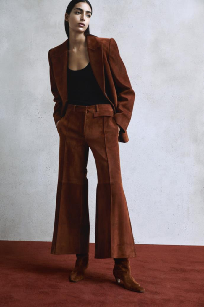 **Enhanced Neutrals:** Earth brown at *Khaite Resort 2020* <br><br> With head-to-toe beige reaching fever pitch in 2019, beige fatigue is imminent. Instead, opt for chocolate brown, mahogany and anything that tips the scale into richer territories.