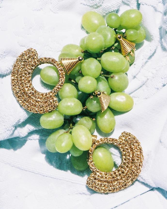 """***Lucy Folk***<br><br> From metallic crocheted earrings, to Egyptian-inspired collars and spiralled beaded earrings studded with fresh-water pearls, Lucy Folk blends feminine allure with whimsical joy. <br><br> Shop [here](https://lucyfolk.com/