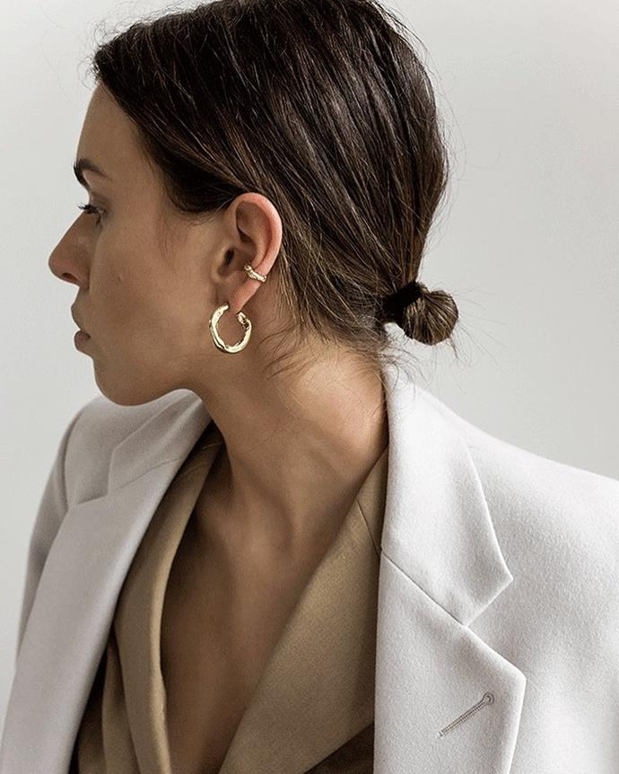 """***Surō***<br><br> Handcrafted in Sydney, surō's pieces are imperfect, abstract and brutalist—a contemporary take on the classics. <br><br> Shop [here](https://www.surojewellery.com/