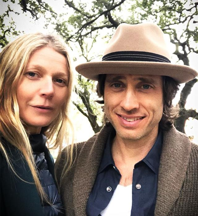 """**Gwyneth Paltrow and Brad Falchuk** <br><br> Paltrow married her second husband, producer Brad Falchuk, in September 2018, but the pair still maintain separate houses in Los Angeles. Speaking to *The Sunday Times*, Paltrow revealed she was taking the advice of an intimacy teacher who suggested maintaining a level of """"polarity"""" in a marriage. The actress-turned-goop-founder admitted Falchuk stays with her roughly four nights out of the week and added that their approach to married life was """"ideal"""".  """"All my married friends say that the way we live sounds ideal and we shouldn't change a thing,"""" she said."""