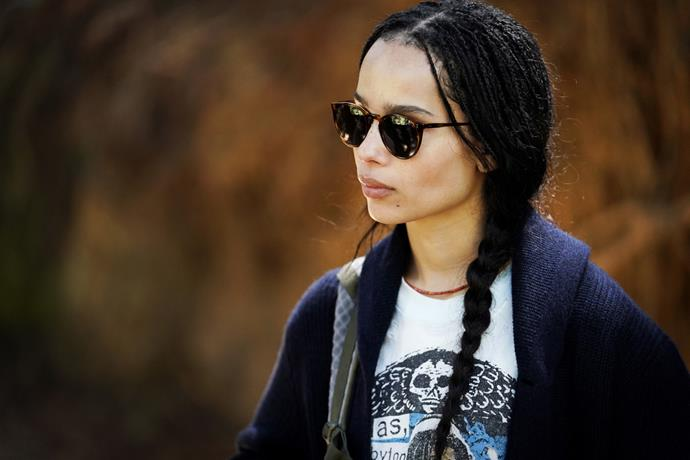 ***Bonnie's grunge garb: Episode one***<br><br>  One of the most affected after Perry's death, Bonnie (Zoë Kravitz) has made a distinct departure from her signature colourful bohemian clothes. Favouring dark colours, silhouettes that shrouded her frame and sunglasses to hide her eyes, which may suggest that she struggling with their secret. <br><br> *Image: HBO*
