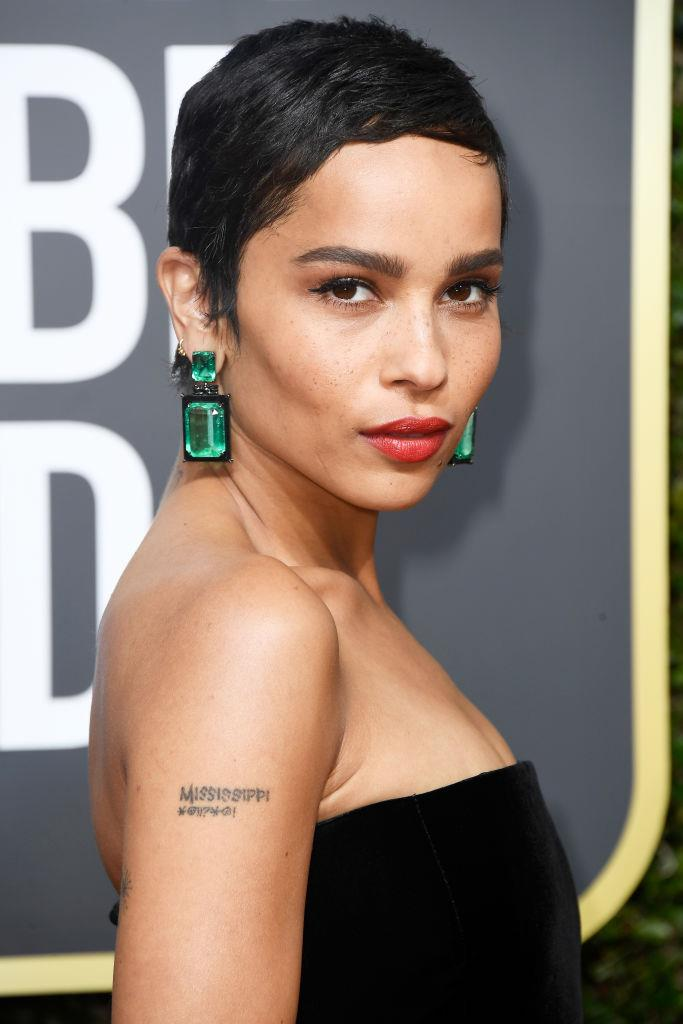 **Zoë Kravitz as Bonnie Carlson** <br><br> Kravitz plays Bonnie, the free-spirited yoga teacher who married Madeline's ex-husband. <br><br> **Where you've seen her before:** *Mad Max: Fury Road*, *Divergent* and *Fantastic Beasts And Where To Find Them*.