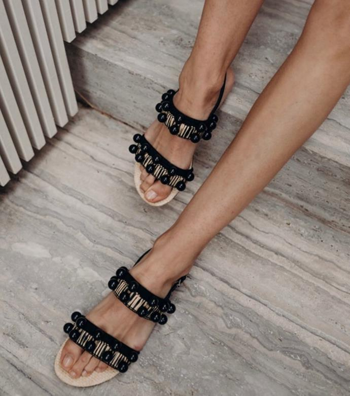 """**[Mara And Mine](https://maraandmine.com/ target=""""_blank"""" rel=""""nofollow"""")**<br><br>  Although they are well known for their signature embroidered slippers, this Australian brand also produces beautiful embellished slides and sandals. From strappy minimalism to raw-edged raffia, there's a stylish shoe for every mood."""