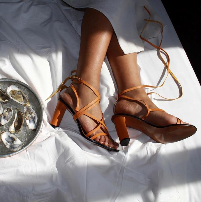 """**[ATP Atelier](https://atpatelier.com/ target=""""_blank"""" rel=""""nofollow"""")**<br><br>  Designed in Sweden, made in Tuscany, this elegant shoe brand has 'wanderlust' written all over it. Available in Australia at multiple [retailers](https://www.theiconic.com.au/atp-atelier/ target=""""_blank"""" rel=""""nofollow""""), their sleek slides and stylish heels will make ideal companions for your next dreamy holiday."""