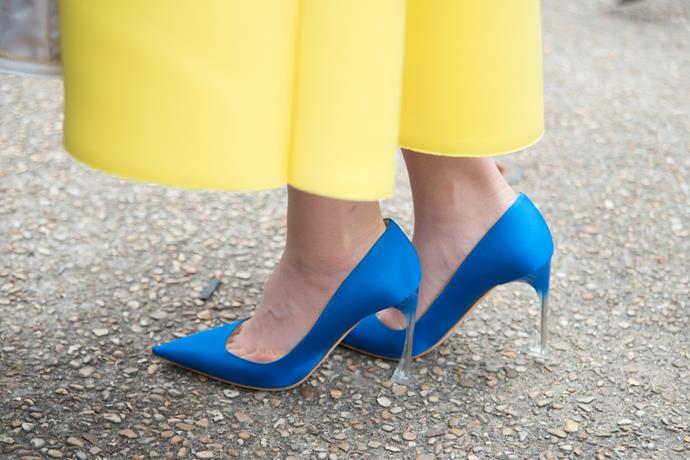"***What sort of shoes should you wear to a wedding with a cocktail dress code? Can you wear flats?***<br><br>  ""As for shoes, you should wear heels. Whether it's stilettos, kitten heels or block heels, a little extra height is usually necessary when it comes to cocktail wear. However, if notable enough, polished flats or sandals will do, too,"" said Nina.<br><br>"