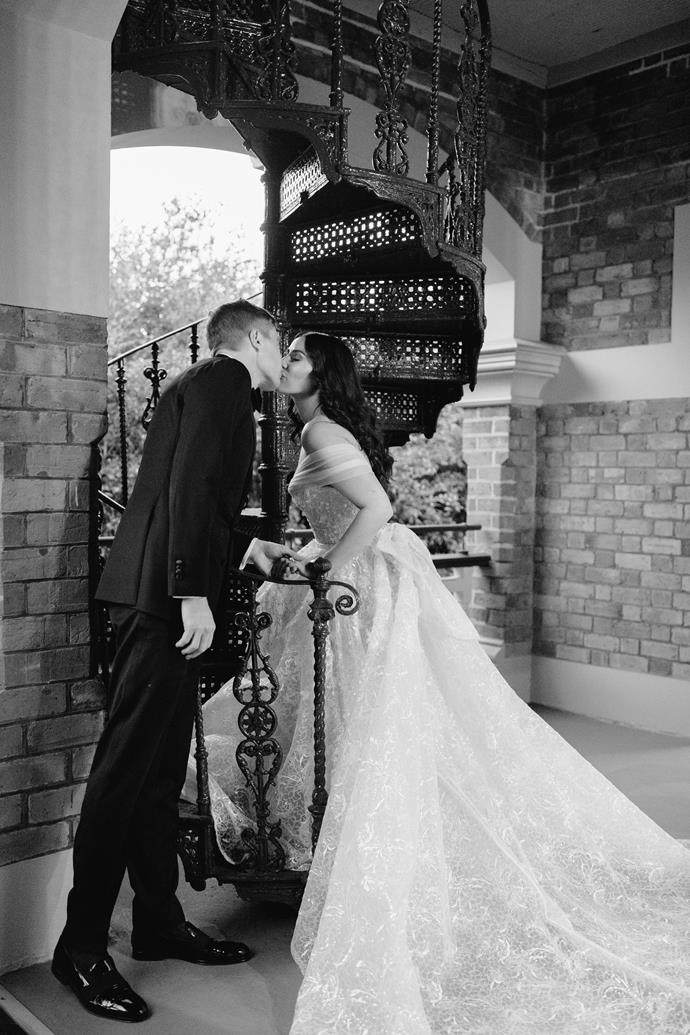 **On her favourite moment from the day:** Walking home at the end of the night, hand in hand as husband and wife snacking on our wedding cake. We both stopped and looked at each other and realised what had just happened that day.