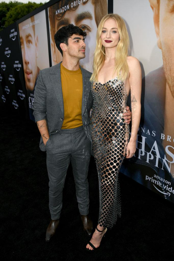 **Sophie Turner and Joe Jonas** <br><br> The Queen of the North apparently has no qualms about the fact that, in heels, she's a good 10 centimetres taller than her husband.