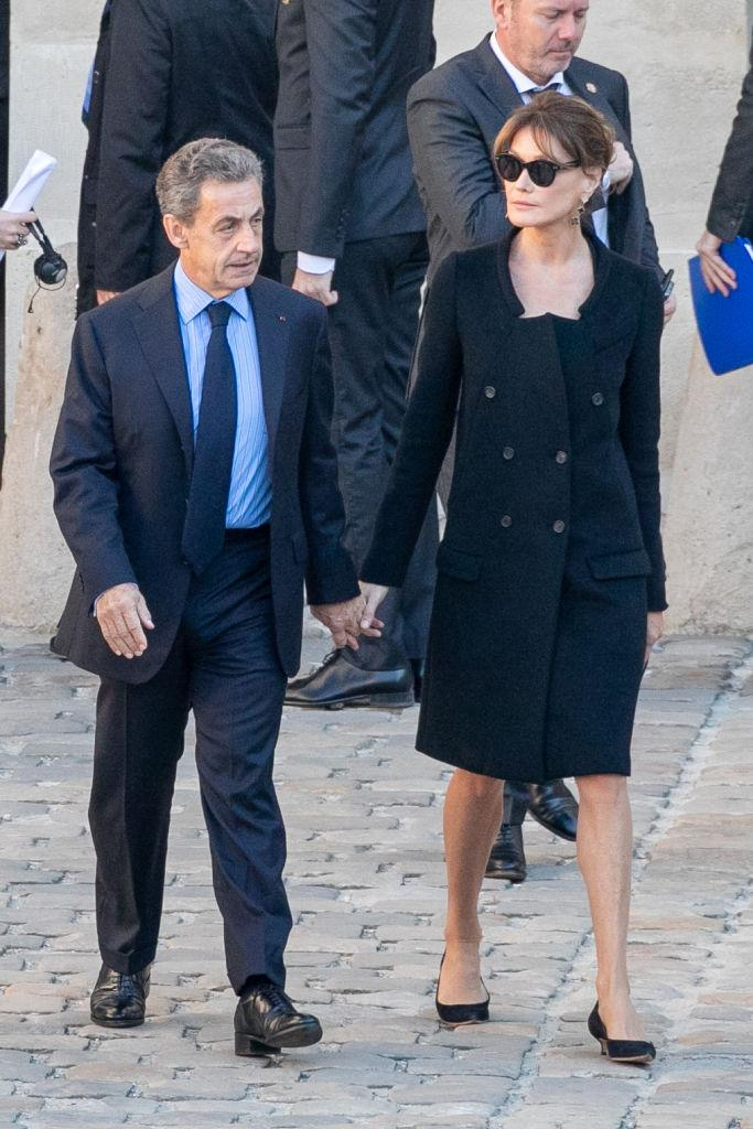 **Nicolas Sarkozy and Carla Bruni** <br><br> The former French First Lady is substantially taller than her politician husband, who's a diminutive 166 cm.