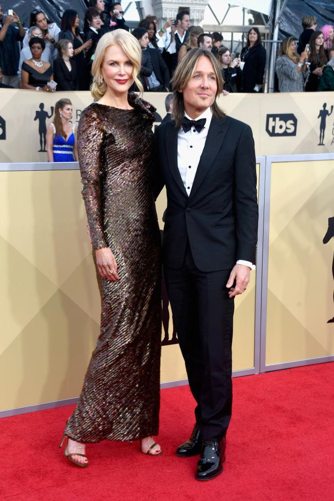 **Nicole Kidman and Keith Urban** <br><br> 180-centimetre Kidman is no stranger to looking down (literally) on her love interests, from ex-husband Tom Cruise, to current love Keith Urban.