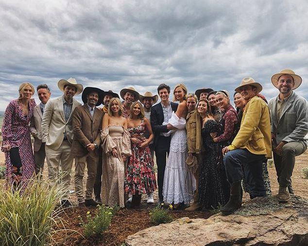The full 'wedding' party.
