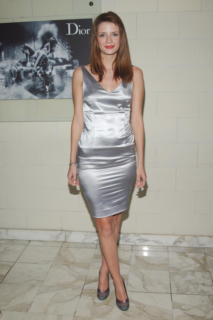 In Christian Dior in 2004.