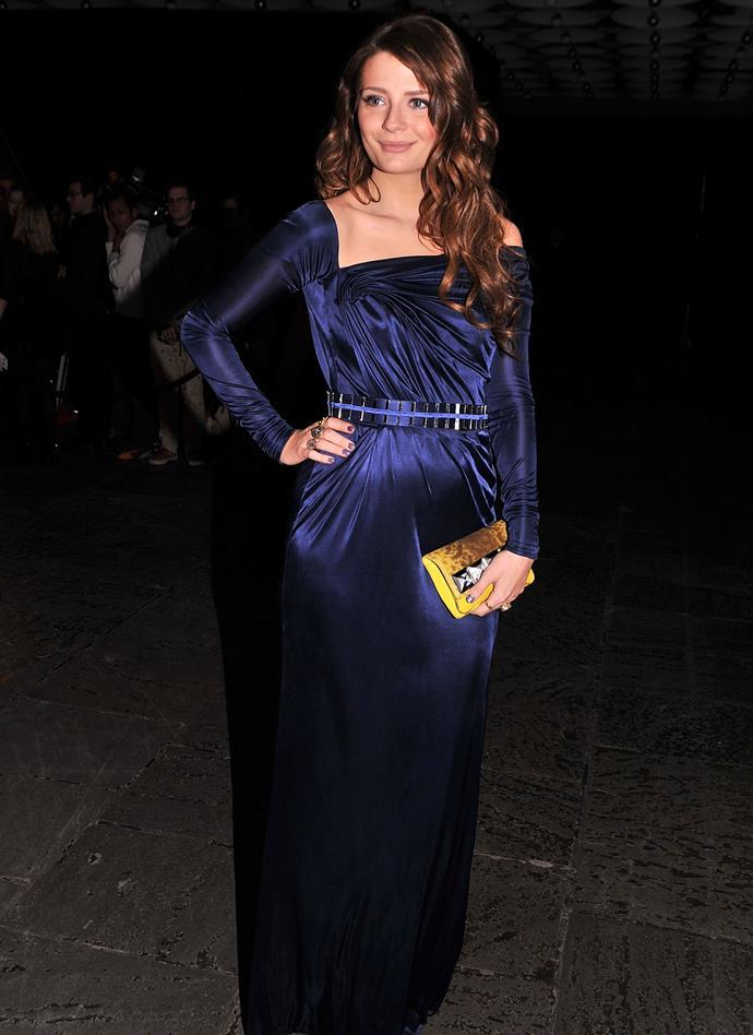 In Versace in 2009.