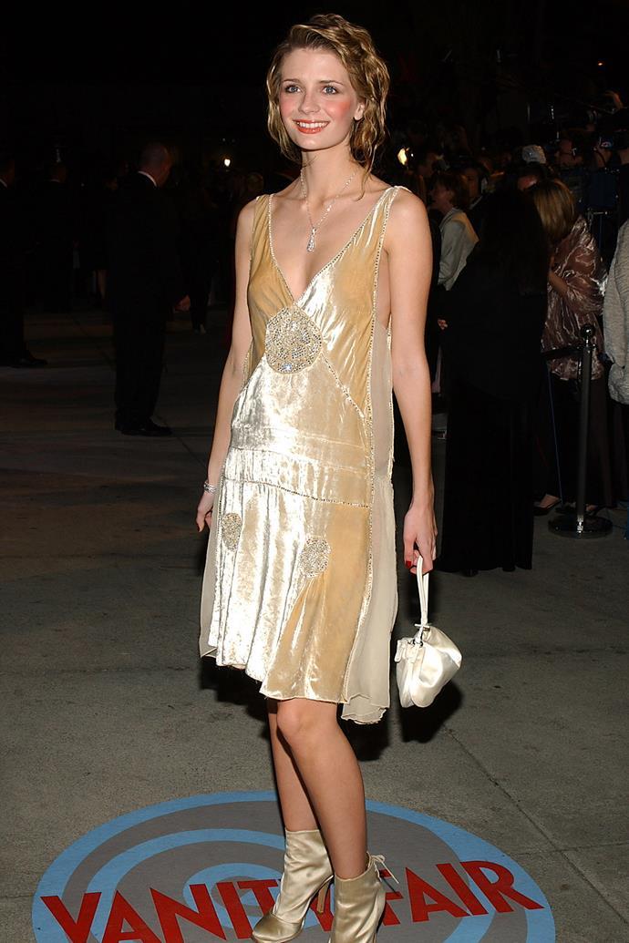 At the 2004 *Vanity Fair* Oscar Party.