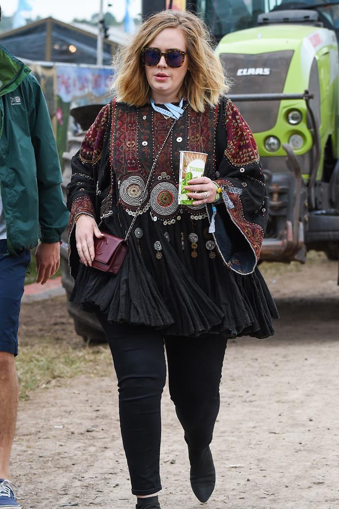Adele in 2015.