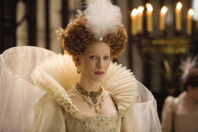 ***Elizabeth: The Golden Age* (July 1)** <br><br> Cate Blanchett plays a mature Queen Elizabeth as she endures multiple crises late in her reign, including court intrigues, an assassination plot, the Spanish Armada, and romantic disappointments.
