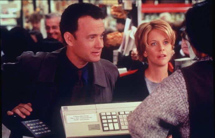 ***You've Got Mail* (July 15)** <br><br> Two business rivals who despise each other in real life (Tom Hanks and Meg Ryan) unwittingly fall in love online during the early days of the Internet.