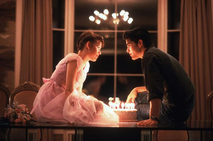 "***Sixteen Candles* (July 1)** <br><br> In Molly Ringwald's star-making role, a girl's ""sweet"" sixteenth birthday becomes anything but special as she suffers from every embarrassment possible."