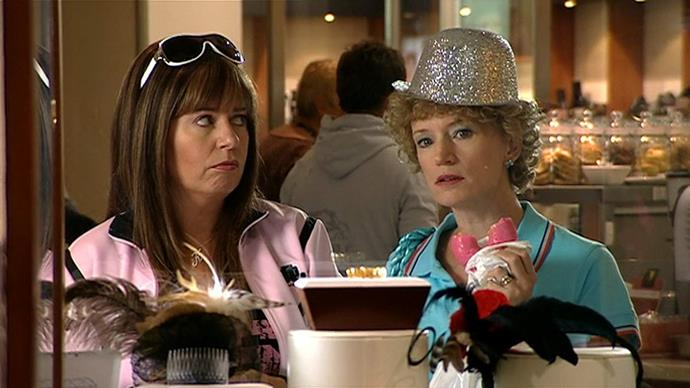 "***Kath & Kim* (July 30)** <br><br> The iconic series finally makes its Australian Netflix premiere, seeing Kath, Kim, and their respective ""hunks of spunk"" negotiate life in suburban Australia."