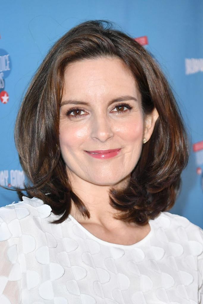 **Tina Fey's real name is Elizabeth Stamatina Fey** <br><br>  The writer and *Saturday Night Live* comedian was actually born Elizabeth Stamatina Fey, before shortening her name for her acting work. Her new first name is actually a shortening of her middle name.