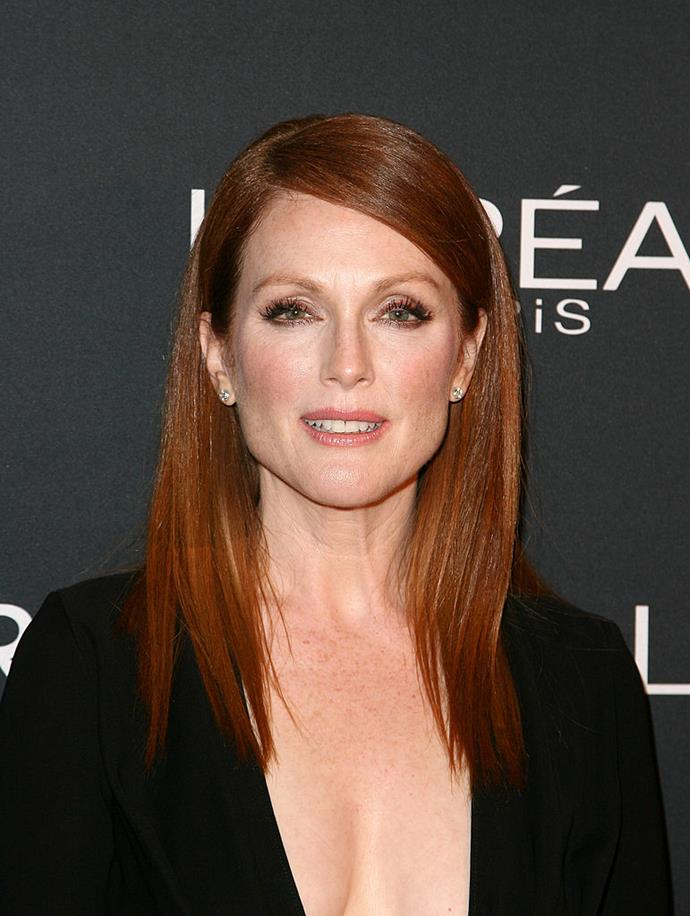 **Julianne Moore's real name is Julie Anne Smith** <br><br>  Moore's stage name is actually a combination of her two first names from birth—'Julie' and 'Anne'. She also forewent her last name from birth, Smith, and adopted the name Moore from her father.
