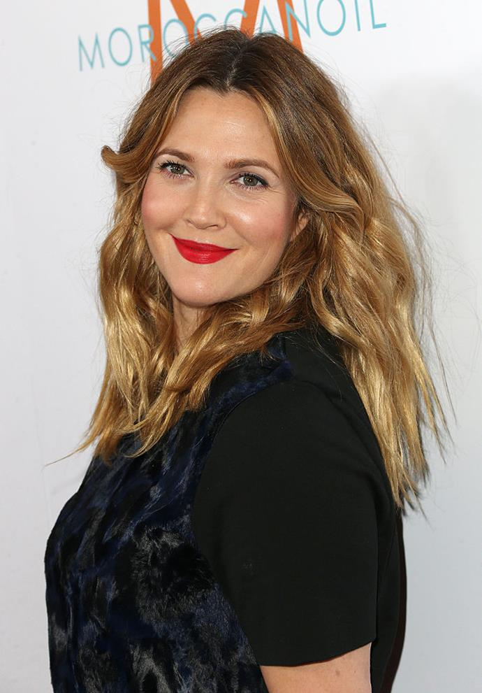 "**Drew Barrymore** <br><br> Barrymore's breast augmentation story is a little different to those of other celebrities. She admitted to having breast reduction surgery in 1992, after feeling restricted by the size of her natural breasts. <br><br> Her only public comment about the surgery was in 1998, six years after having it done. She told the *New York Daily News*: ""When [your breasts] are huge, you become very self-conscious. Your back hurts. You find that whatever you wear, you look heavy in. It's uncomfortable."" <br><br> *Image: Getty*"