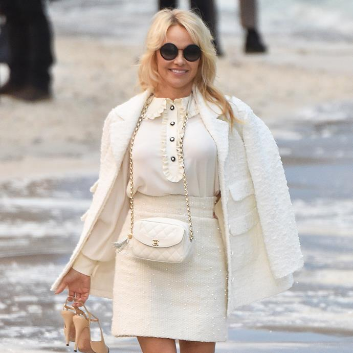 "**Pamela Anderson** <br><br> The *Baywatch* actress-turned-activist is often considered to be the 'original sex symbol', but has hinted at her breast enlargements in a 2016 interview with *[W Magazine](https://www.wmagazine.com/story/pamela-anderson-aging-beauty-divorce-connected-film?mbid=social_twitter|target=""_blank""