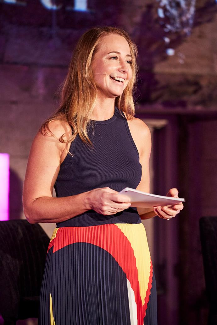 Editor-in-chief Eugenie Kelly