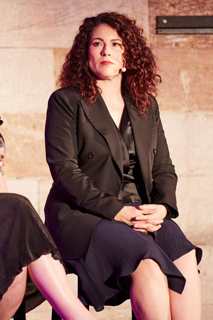 Panellist Dr. Rebecca Huntley