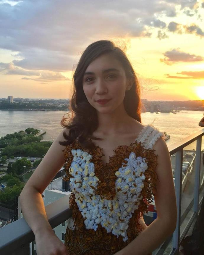"""**Rowan Blanchard** <br><br> Actress and activist Blanchard looked heavenly in off-the-runway Rodarte for her 2017 prom, which she attended with fellow Disney actress Yara Shahidi. <br><br> *Image: Instagram [@rowanblanchard](https://www.instagram.com/p/BUXig95hRYT/