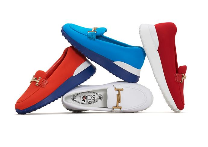 Elbaz reimagines the Tod's loafers.