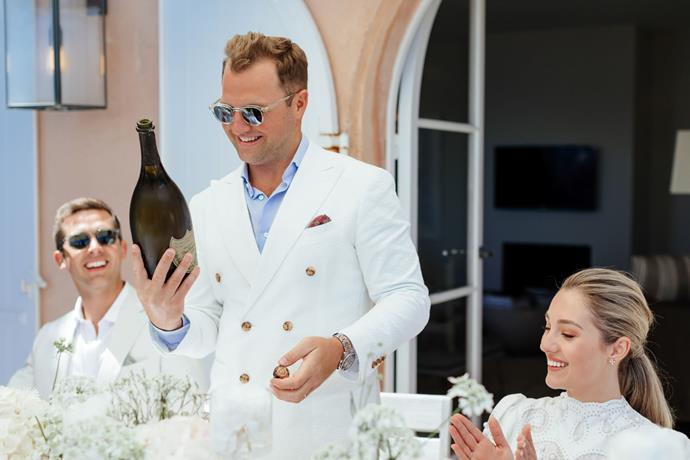 **Was there anything the groom was particularly keen on including in the wedding?** Nick's only request for the wedding was that he just wanted everyone to have fun and for me not to be stressed!