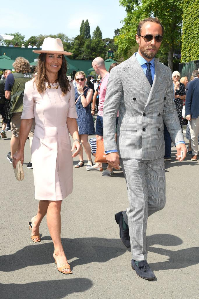 Pippa Middleton and James Middleton.