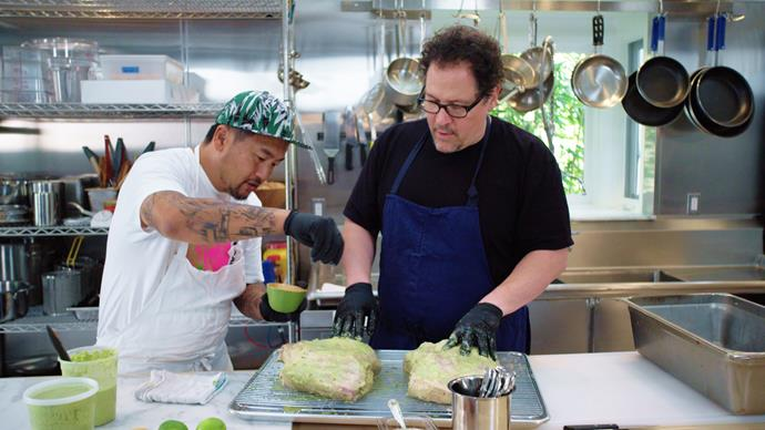***The Chef Show*** <br><br> For fans of: *Chef's Table* and *Street Food* <br><br> Hollywood producer and actor Jon Favreau made his breakout 2014 hit movie *Chef* with the help of real-life Los Angeles chef Roy Choi. However, once filming wrapped, Favreau found himself still wanting to cook with Choi and, thus, *The Chef Show* was born. With delectable cult recipes and heaps of celebrity guests (hello, Gwyneth Paltrow), this cooking-meets-documentary series is extremely easy viewing.