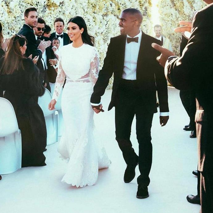 """**TAURUS: *Kim Kardashian West in Givenchy by Riccardo Tisci*** <br><br> Everyone remembers the moment they first laid eyes on KKW's heavenly Givenchy gown. It was modern, subtle, and timeless, all characteristics that Taurus typically look for in their wardrobe choices. <br><br> *Image: Instagram [@kimkardashian](https://www.instagram.com/kimkardashian/?hl=en target=""""_blank"""" rel=""""nofollow"""")*"""