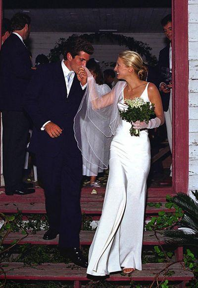 **CANCER: *Carolyn Bessette-Kennedy in Narciso Rodriguez*** <br><br> Only a handful of wedding dresses are enshrined in history, and the late Carolyn Bessette-Kennedy's Narciso Rodriguez number is one of them. Considering Cancerians often favour a streamlined, laid-back aesthetic, Bessete-Kennedy's gown makes the perfect inspiration for a Cancerian woman's big day. <br><br> *Image: Carolyn Bessette-Kennedy*