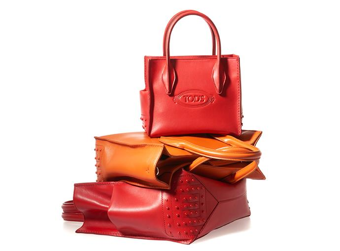 The designer's take on the Tod's Shopping Bags.
