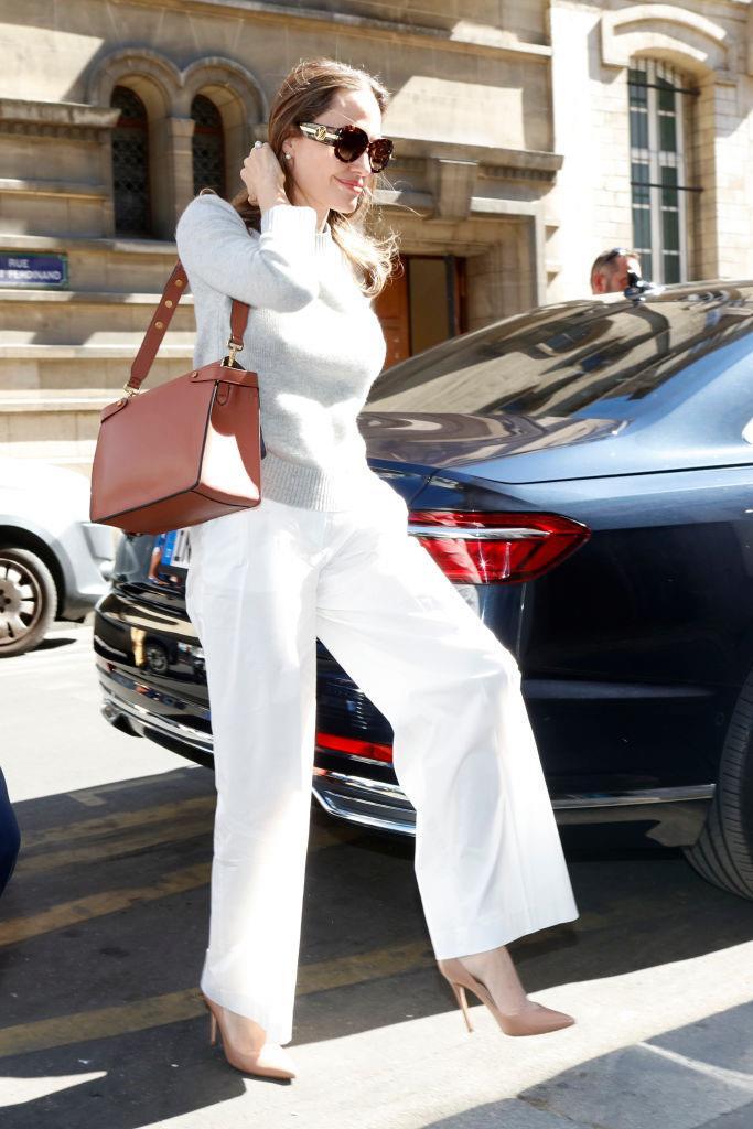 Jolie in Paris on July 9, 2019.