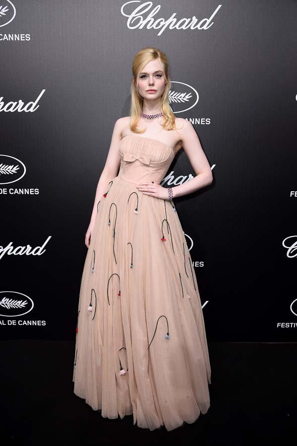 "*Elle Fanning's too-tight Prada*<br><br> Guests at a Cannes event in 2019 were given a fright when Elle Fanning fainted and fell off her chair during dinner. As she explained afterwards in an Instagram post, her Prada dress was ""too tight"" but she was ""all good."""