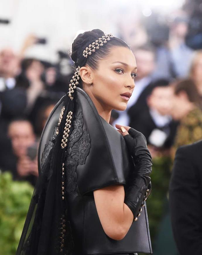 "*Bella Hadid's heavy veil*<br><Br> At the 2018 Met Gala, Bella Hadid must have developed quite the headache. The model admitted after the night that her veil weighed more than 4.5kg and was sewn onto her head. <br><Br> She wrote: ""If anyone was wondering why I couldn't move, it's because a legend by the name of @jenatkinhair sewed a whole entire 10-pound veil to my head."""
