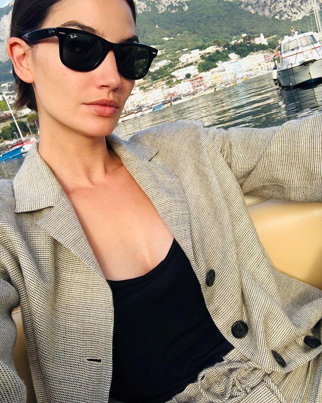 "Lily Aldridge in Capri. <br><br> *Image: Instagram [@lilyaldridge](https://www.instagram.com/p/ByxQ9JCnmhE/|target=""_blank""|rel=""nofollow"")*"