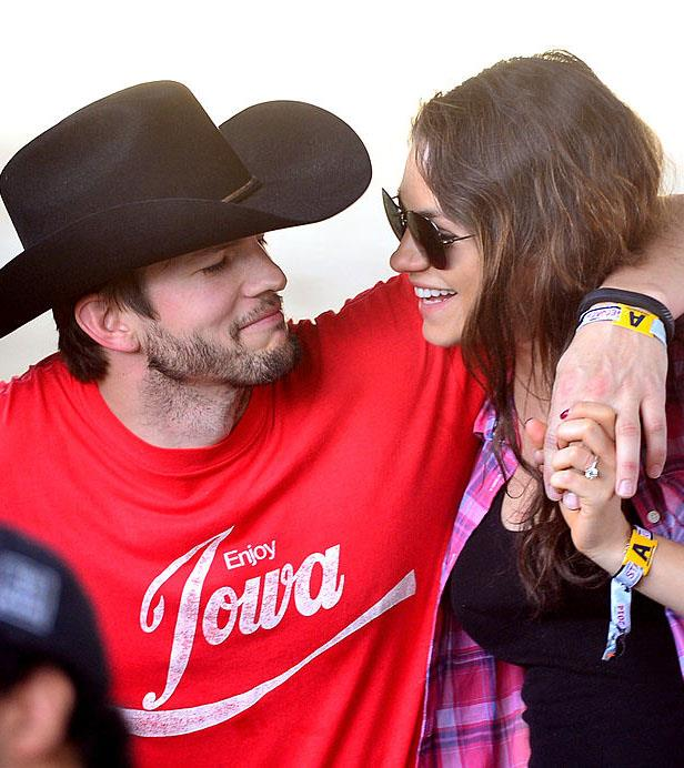 **Ashton Kutcher and Mila Kunis** <br><br> Kutcher and Kunis have both enjoyed high-profile romances in the past (Kutcher with Demi Moore, and Kunis with Macaulay Culkin), and nowadays avoid most forms of media attention. Before they married in 2015, they welcomed a daughter, Wyatt, in 2014, and welcomed a son, Dimitri, in 2016. <br><br> *Image: Getty*