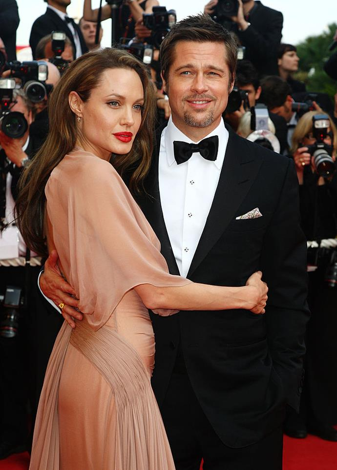 "**Angelina Jolie and Brad Pitt:** Although they divorced in 2016, Jolie and Pitt spent 13 happy years together and, according to a report from *[New York Daily News](https://www.nydailynews.com/entertainment/gossip/angelina-jolie-fidelity-not-essential-relationship-brad-pitt-article-1.437954|target=""_blank""