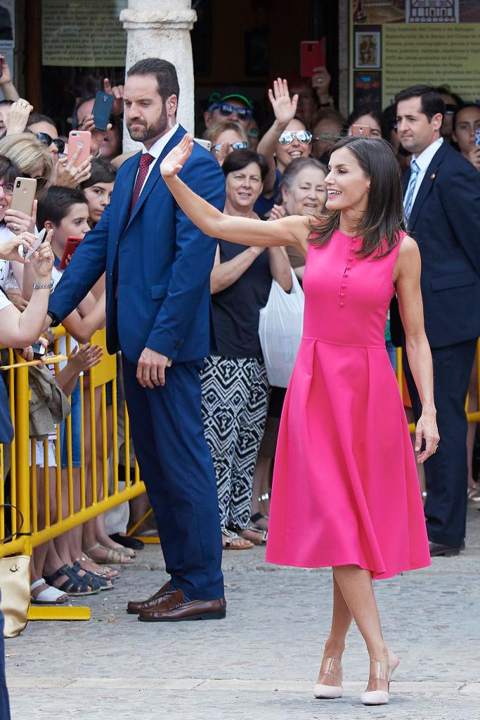 Queen Letizia of Spain on July 9, 2019.
