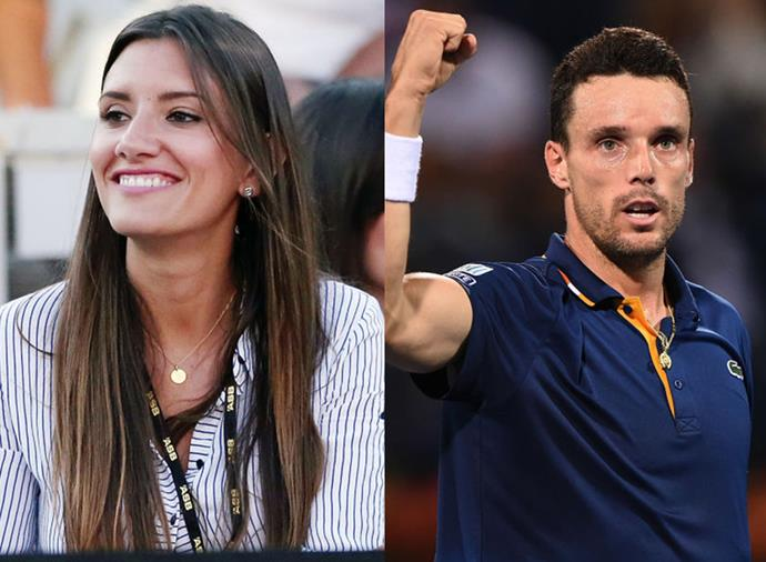 "**Ana Bodi Tortosa, wife of Roberto Bautista Agut** <br><br> Spanish star Roberto Bautista Agut has been romancing former beauty pageant winner Ana Bodi Tortosa for years, with reports suggesting they've known each other since they were teenagers. The couple keeps a low profile, particularly on social media, save for the [occasional holiday shot](https://www.instagram.com/p/BvFgJOEAyH9/|target=""_blank""