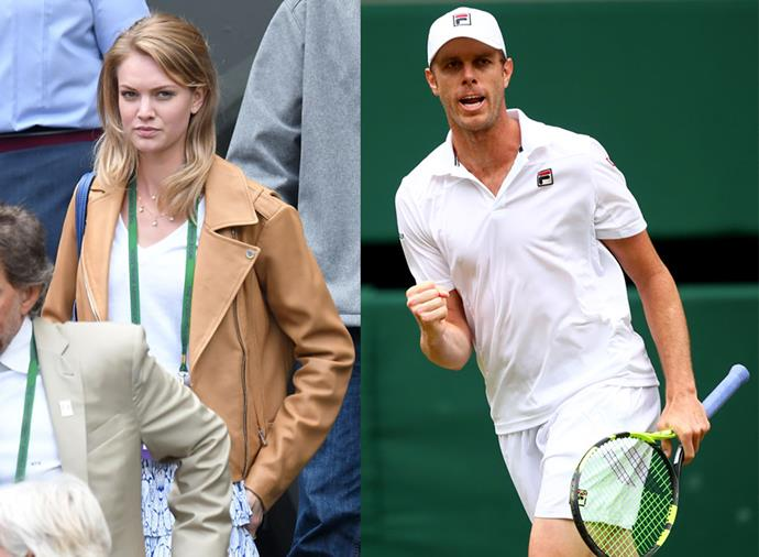 """**Abby Dixon, wife of Sam Querrey** <br><br> America's Sam Querrey has been married to wife Abby Dixon, a model, since 2018, when they tied the knot in a [down-to-earth Florida ceremony](https://www.instagram.com/p/Bj3LjIgA9Y6/